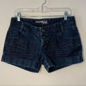 EUC Express Indigo Denim Shorts
